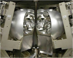 傾斜鏡型赤外線集中加熱炉